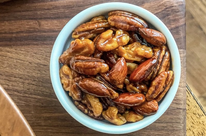 Wholesome and Sweet Honey-Glazed Candied Nuts