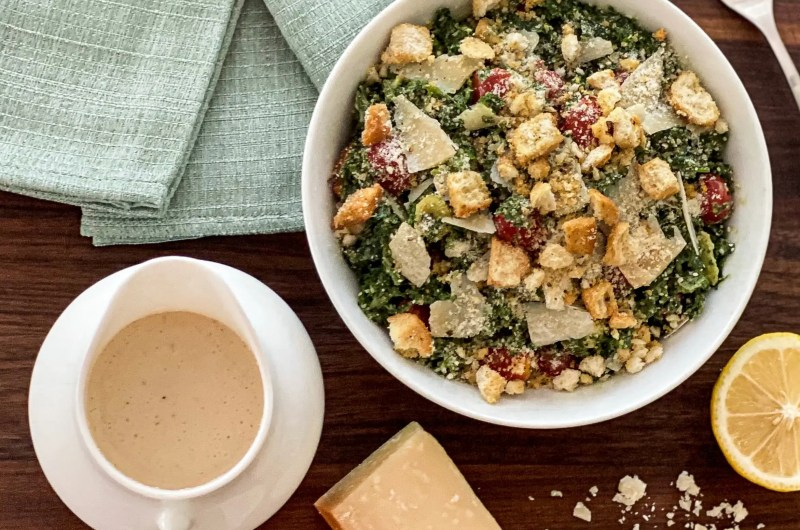 Authentically Rich and Creamy Caesar Salad Dressing
