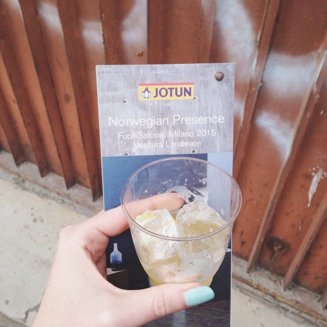 INGRIDESIGN cocktail Norwegian Presenc