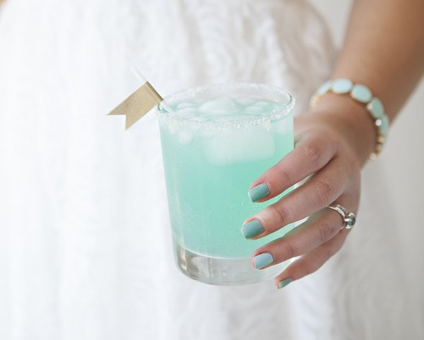 Carribean Mist cocktail by Something Turquoise