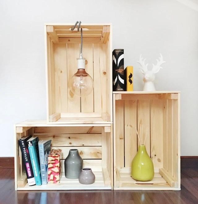 INGRIDESIGN_DIY_knagglig storage with hanging a light