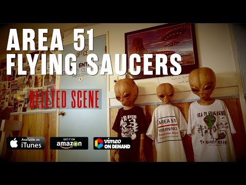 DELETED SCENE : AREA 51 & FLYING SAUCERS