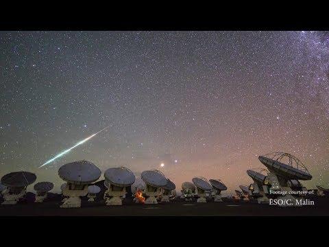 2014 QUT's Dr Stephen Hughes explains green fireball UFO sightings