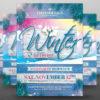Winter Season Flyer Template PSD V.3
