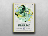 Spring Day Flyer Template for photoshop