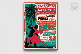 Salsa Flyer Template V4