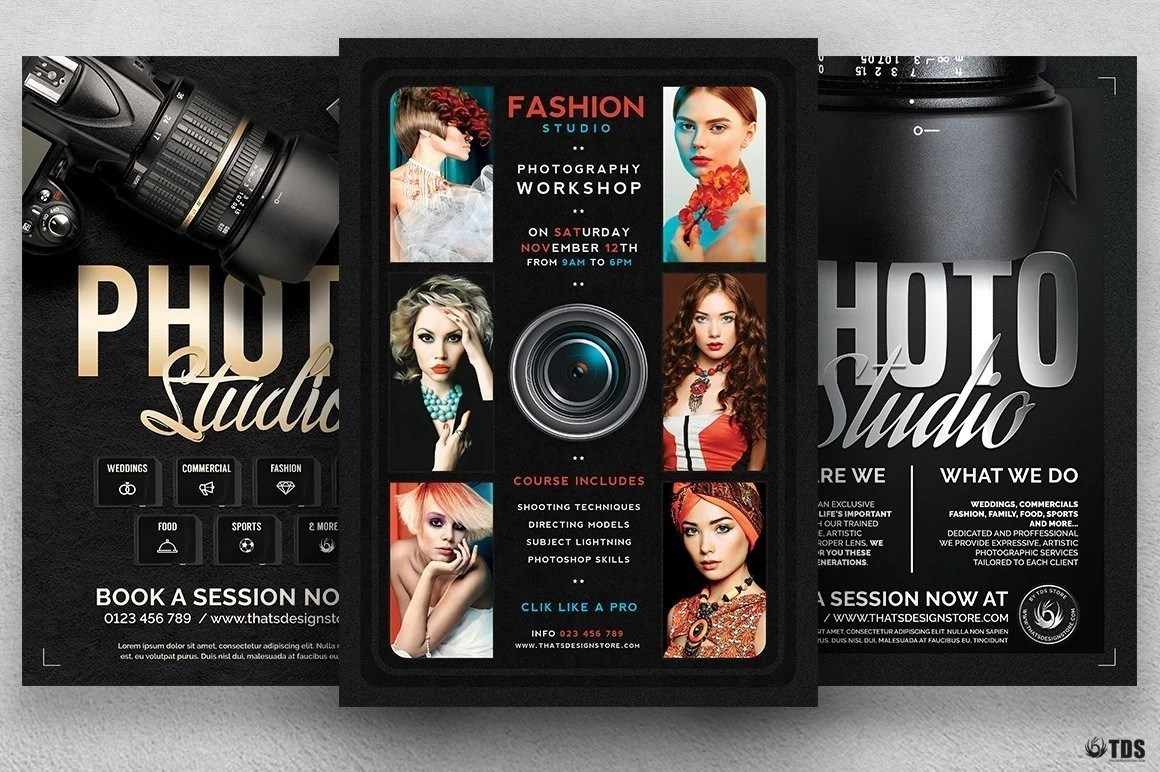 Special Photographer Flyer Bundle Flyer Design Store