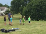 Uncle Jason's golf camp!