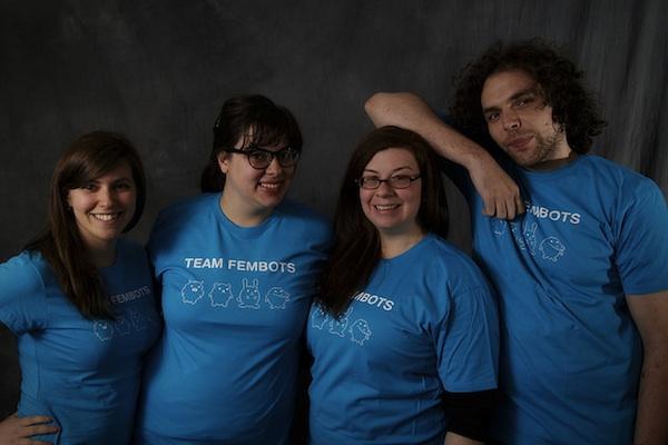 Team Fembots (Photo by Brendan Lynch)