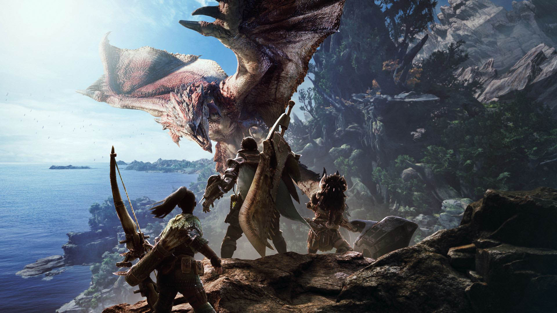 Leaked Monster Hunter Trailer Features Familiar Monsters