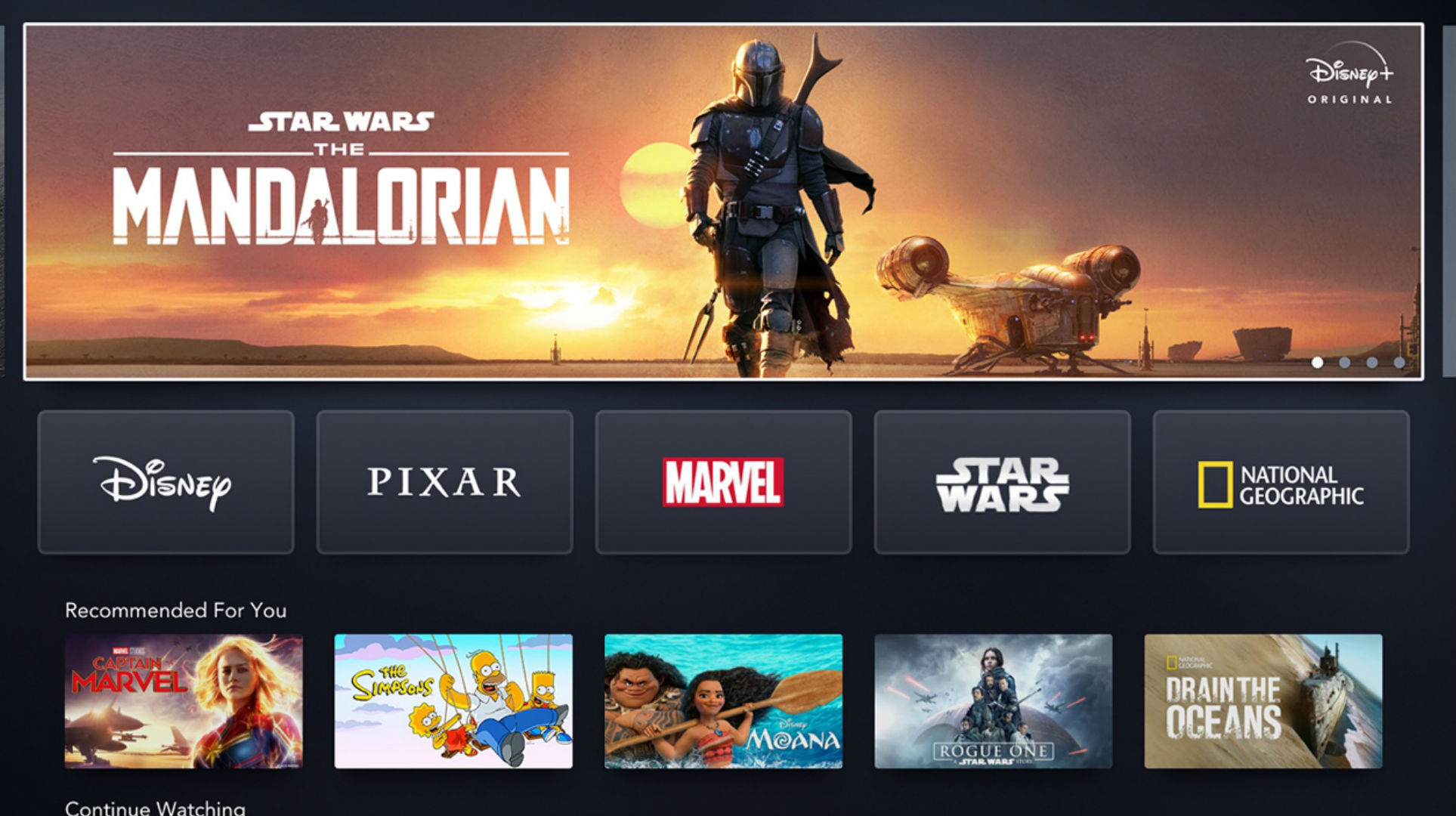 Disney+ Launches Today in Canada and the U.S.