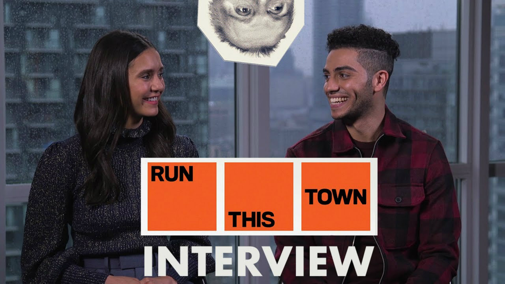 Run This Town Interview: Nina Dobrev & Mena Massoud Talk Rob Ford and Toronto