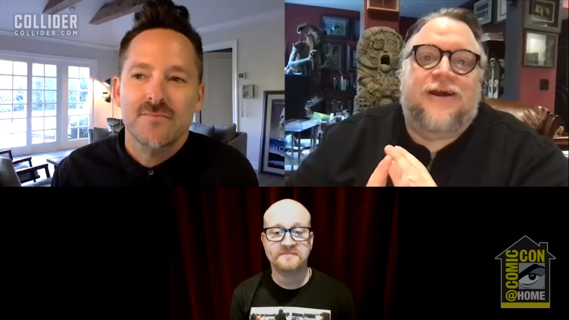 Comic-Con Antlers Panel: Scott Cooper and Guillermo del Toro Geek Out