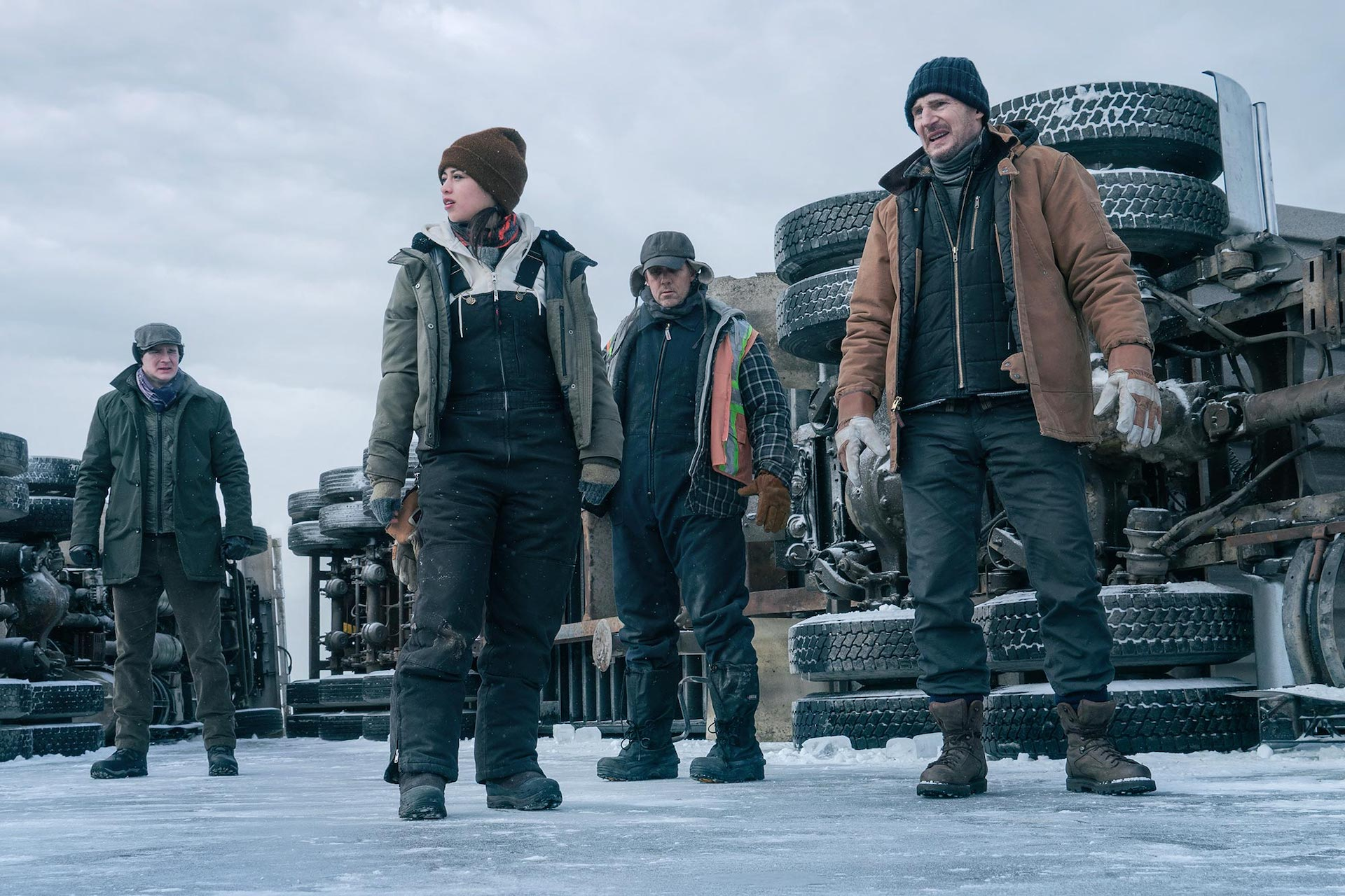 The Ice Road Review: Liam Neeson, Sedentary Action Star