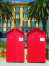 changing rooms public beach santa margherita ligure liguria