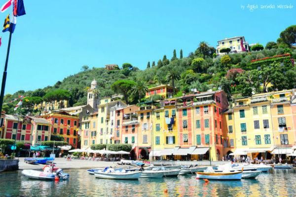 Portofino: luksus i gwiazdy hollywood ... w parku narodowym !
