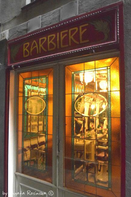 entrance barber shop
