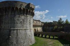 Fortress in Sarzana
