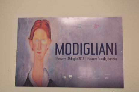 Modigliani exhibition