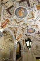 freski w atrium