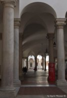 view on atrium of Palazzo Ducale