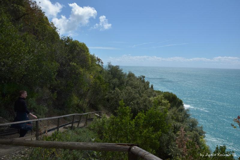 Sentiero Azzurro from Monterosso