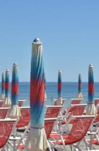 beach Albenga umbrella