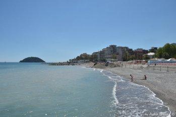 beach in Albenga