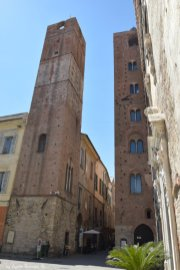 one of the towers in Albenga