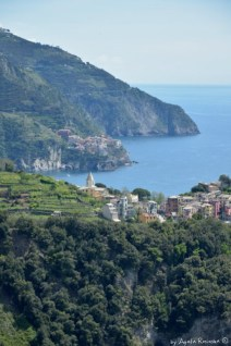 view on Corniglia and Manarola