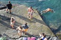 Ligurian beach