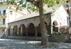 an antic building Levanto