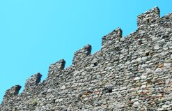 medieval wall details