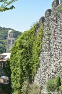 medieval walls around Levanto