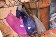 plastic shoes