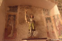 sculpture in St Katherin church