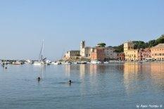 swimming Sestri Levante