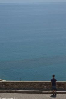 view on the Ligurian Sea