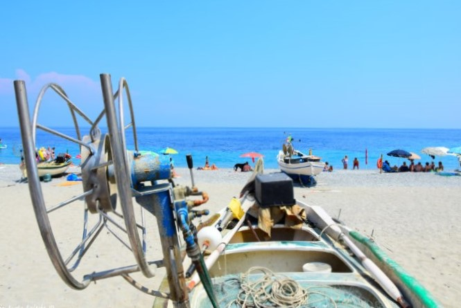 beach of fishermen Noli Savona
