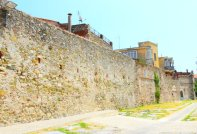 medieval walls Noli