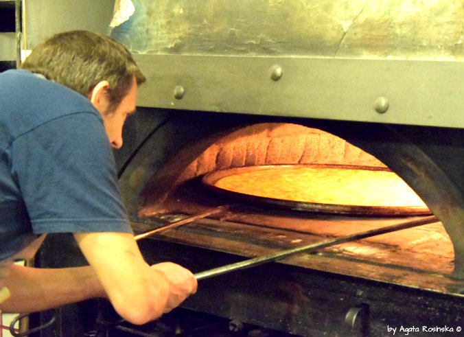 cooking farinata