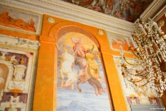 frescos in Villa Pallavicini