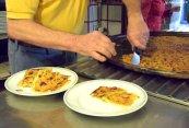 plating farinata