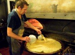 preparing farinata