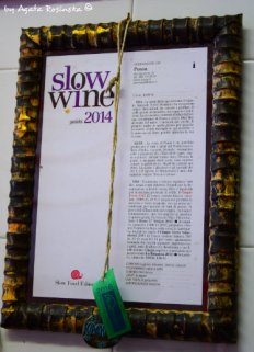 slow wine diploma Possa