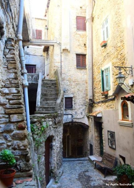 Dolceacqua in Italian Riviera
