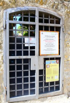 castel entrance
