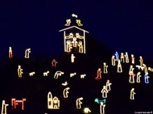 christmas crib Manarola Cinque Terre