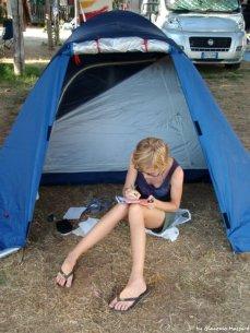 camping in Liguria