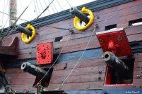 cannons galleon of Polanski